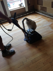 Sanding Wood Floors